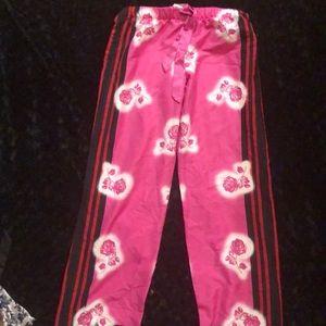 NWOT Victoria's Secret satin pajama pants